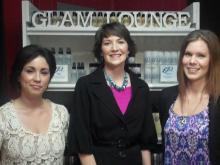 Debra Goodyear, Brittney Switala and Dawn Carrington