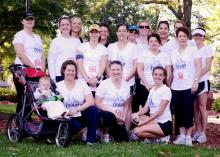 Stroller Strides of Raleigh offers a special program for moms who want to finish a 5K.