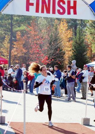 Stroller Strides of Raleigh offers a 5K training program for moms.