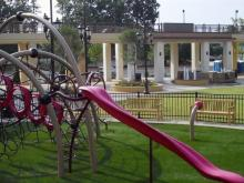 Waverly Place shopping center playground