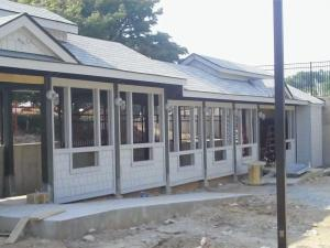 New train depot at Pullen Park