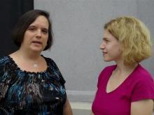 Romance writer Beth Williamson talks to Go Ask Mom editor Sarah Lindenfeld Hall