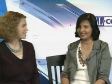 Go Ask Mom editor Sarah Lindenfeld Hall and Dr. Madhvi Thakkar of North Hills Internal Medicine