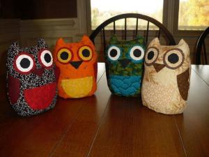 Bea Lee's products include adorable owls like these.