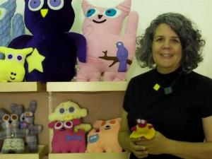 Michelle Lyon and her Peculiar Pets