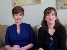 Geralin Thomas and Dr. Susan Orenstein