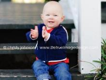 Connor Ray, winner of the Go Ask Mom Cutest Baby Contest. Photo credit: Be True Image Design