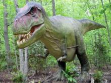 Zoo plays host to moving dinosaurs