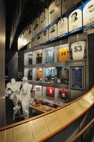 During the event Celebrate North Carolina Sports, learn about the state's sports heroes in the exhibit N.C. Sports Hall of Fame. Kids can enjoy a scavenger hunt through the exhibit and win a prize.