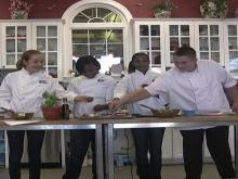 Lil Chef: Simple basil bruschetta
