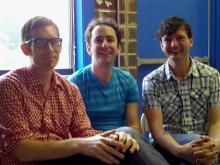 Recess Monkey talks about their summer, their backstage desires