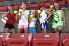 Fans at the Carolina Diamonds game