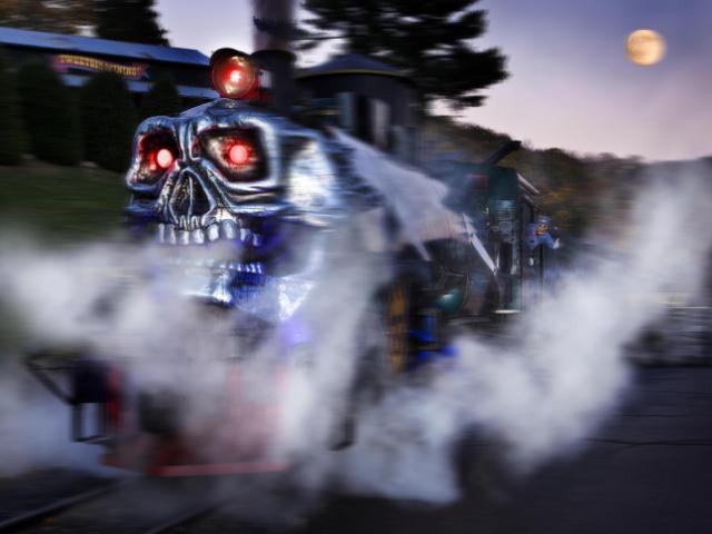 The Ghost Train at Tweetsie Railroad
