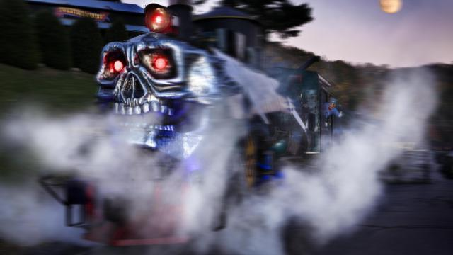 The Ghost Train at Tweetsie Railroad