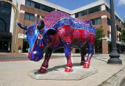 IMAGE: CowParade makes its way around the Triangle