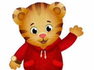 "Daniel Tiger, the star of ""Daniel Tiger's Neighborhood."""