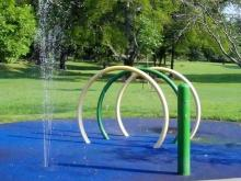 Forest Hills Park sprayground