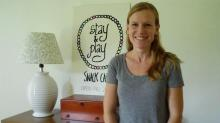 Emily McCall of the Stay & Play Snack Cafe