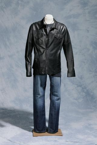 """Scotty McCreery wore this outfit when he sang his final duet on """"American Idol,"""" """"Live Like You Were Dying,"""" with country superstar Tim McGraw on May 25, 2011. It is on exhibit at the N.C. Museum of History. CREDIT: N.C. Museum of History"""