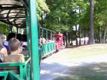 Train at Hill Ridge Farms