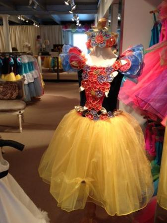 Snow White dress at The Enchanted Fairy, Raleigh