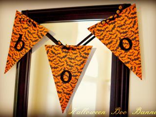 Halloween Boo Banner. Courtesey: Genny Upton, In Lieu of Preschool