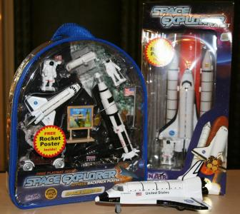 Space-themed playsets include rockets, lunar rovers, shuttlecraft and more — perfect for the child who wants to be an astronaut or a pilot one day.