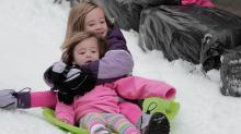 IMAGES: Raleigh Winterfest: Sledding and skating