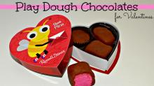 Play dough chocolates