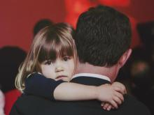 Triangle Father-Daughter dance