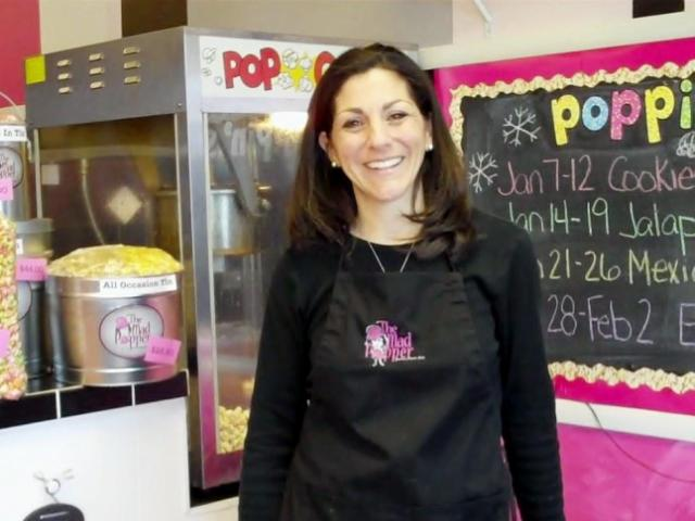 Andrea Ginsberg, owner of The Mad Popper