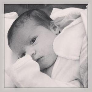 Jeb Slawter, Mike Slawter's newborn son