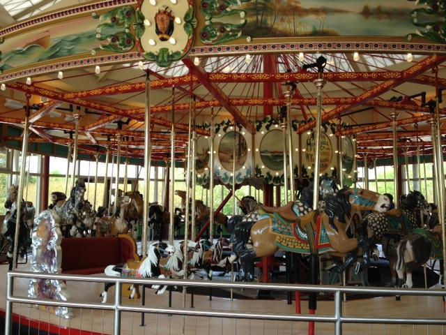 The Chavis Park carousel, built around 1916, opened at Chavis Park in 1937. It will reopen to the public after a massive renovation on April 20.