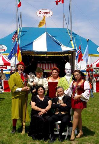 Zoppe Family Circus stops in Raleigh for shows May 17 to May 19..