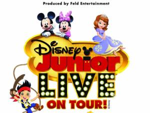 Disney Junior Live! stops at the DPAC in August 2013.