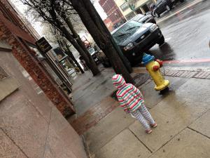 Exploring downtown Asheville