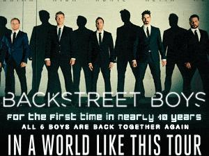 Backstreet Boys: In a World Like This Tour