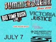 Big Time Rush and Victoria Jackson