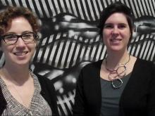 Julia Rice and Kate Thompson Shafer talk about CAM Raleigh
