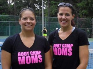Kyle Furlow and Jennifer Pinder of Bootcampmoms.com