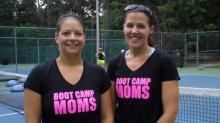 Kyle Furlow and Jennifer Pinder, Boot Camp Moms
