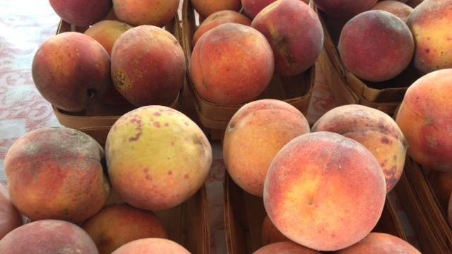 Peaches in the recall originated in California.
