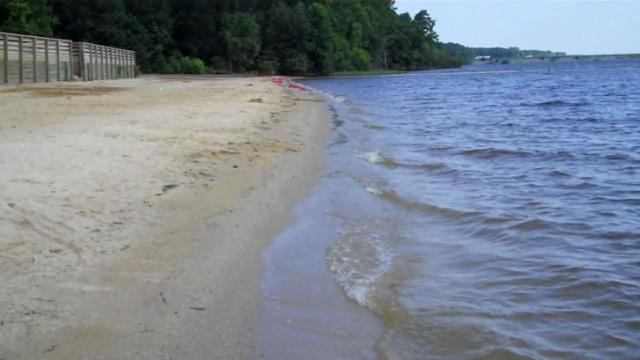 Seaforth Beach at Jordan Lake