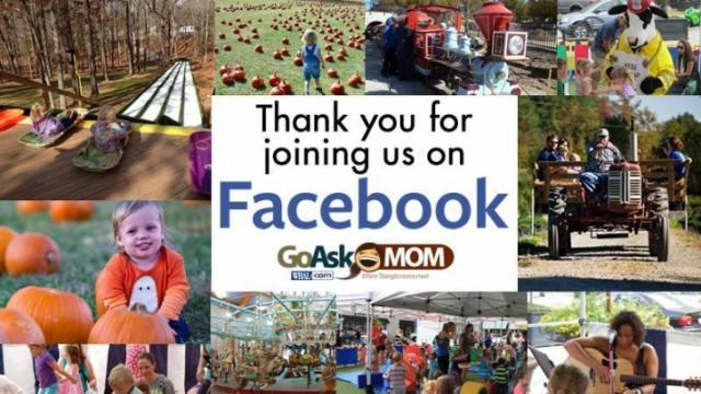 Find Go Ask Mom's Facebook page at www.facebook.com/wralgoaskmom.