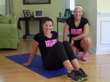 Jen Pinder and Kyle Furlow of Boot Camp Moms