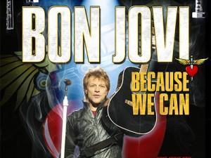 Bon Jovi Because We Can - The Tour