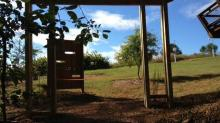 Nature play space at Prairie Ridge Ecostation