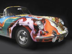 Porsche Type 356C Cabriolet, 1965, Collection of the Joplin Family, Courtesy of the Rock and Roll Hall of Fame and Museum, Cleveland, Ohio, Photograph (c) 2013 Peter Harholdt
