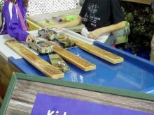 Play boat ramp at the N.C. Wildlife Resource Commission's State Fair tent