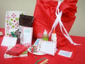 All Wrapped Up Christmas box. Courtesy: http://allwrappedupparties.com/